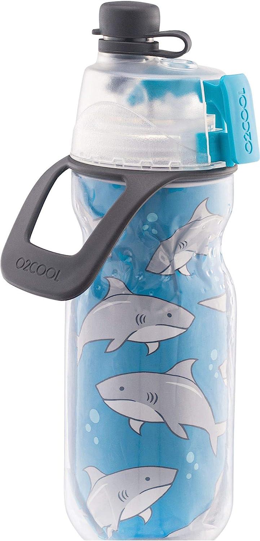 Sharks O2COOL Bottle Kids Mist N Sip