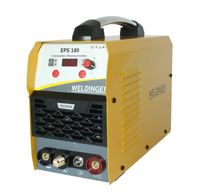 WELDINGER EPS 180 go Elektrodeninverter//Plasmaschneider 180//45 A