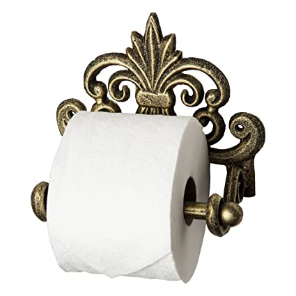 Toilet Paper Holder Antique White Or Pick Color Shabby Chic Bathroom