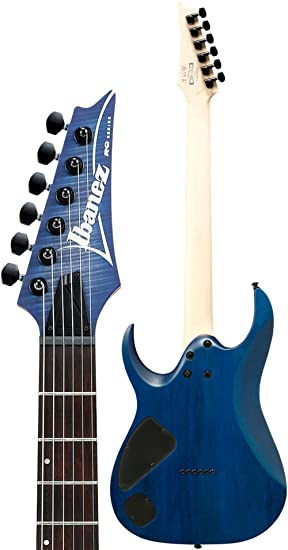 Amazon.com: Ibanez RGA Series RGA42FM - Blue Lagoon Burst Flat: Musical Instruments