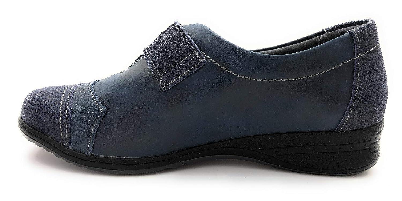 Suave 7510 - Mocasines de Otra Piel Mujer, Azul (Azul), 39 EU: Amazon.es: Zapatos y complementos