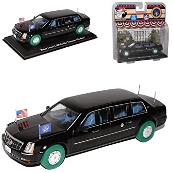 Cadillac Limousine 2009 The Beast Barack Obama Präsident USA grüne ...