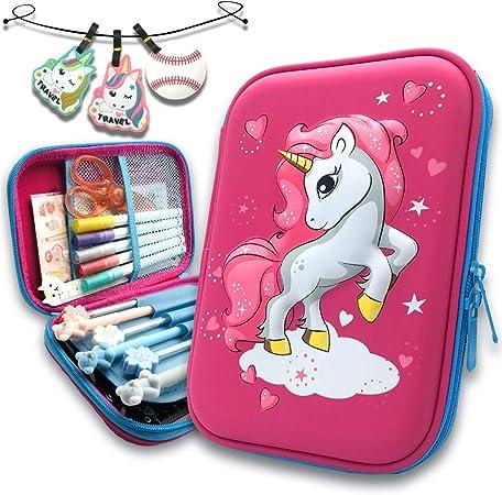 Magical Mom Unicorn and Baby Pencil Pen Organizer Zipper Pouch Case