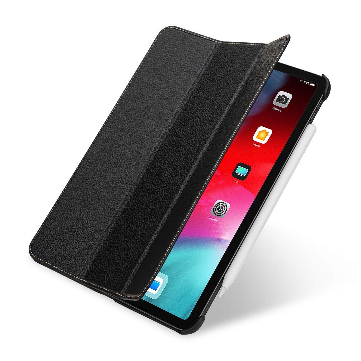 即日発送 StilGut 2018年 Couverture 本革 B07KC2CK51 全面保護 iPad カバー 2018年 新型 Apple iPad Pro 11 インチ オートスリープ レザーケース 三つ折り スタンド付 ブラック black B07KC2CK51, 喜連川町:a14afa29 --- a0267596.xsph.ru