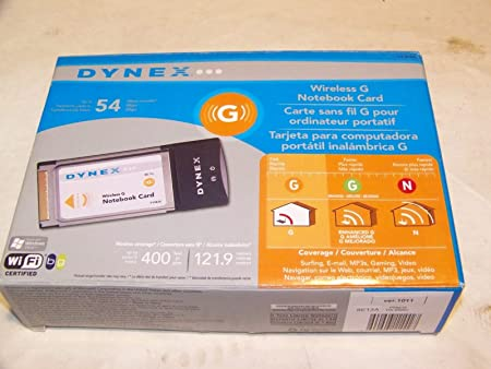 Amazon.com: Dynex dx-bnbc 54 Mbps 802.11 g Wireless LAN ...