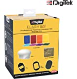 Digitek Professional Flash Kit, Better Choice Than magmod Photography kit, MagSphere, MagGrid, MagGel, MagGrip, Creative Gels (DFB 002)
