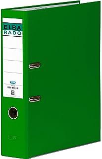 Elba Rado Chic - Archivador palanca en PVC, A4, color verde