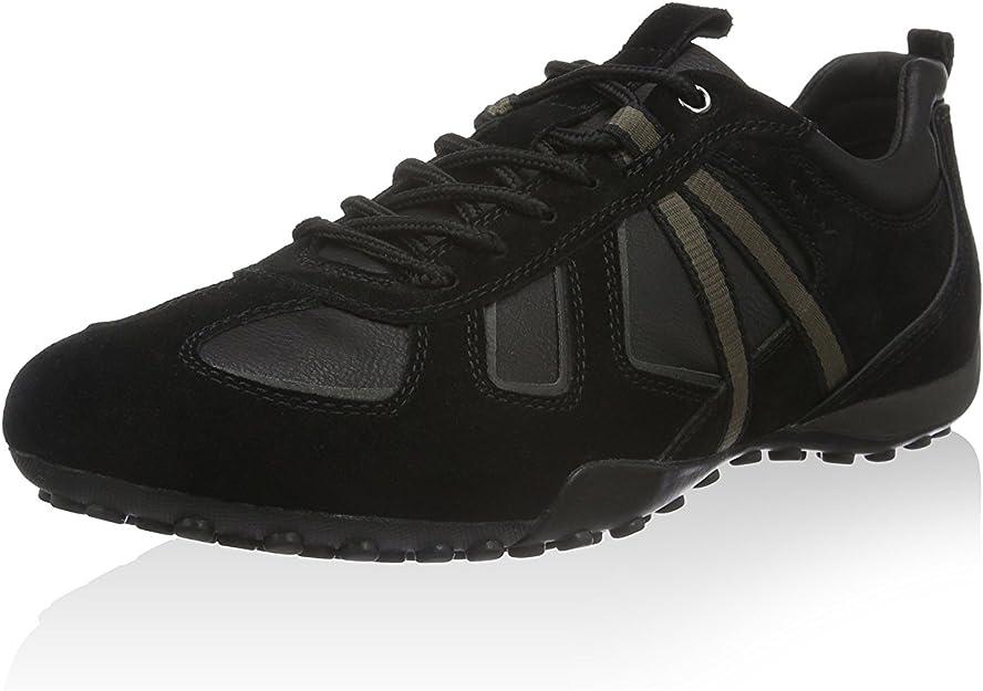 GEOX Snake Herren Sneaker Low Schwarz Schuhe