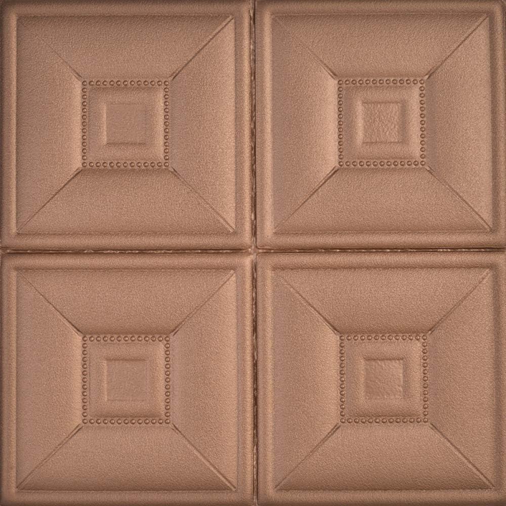 LZYMLG Papel pintado 3d mural nórdico minimalista personalidadgeométrica línea cuadrado Tv papeles de pared decoración del hogar mural Perla marrón oscuro