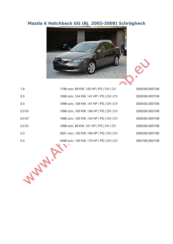 Acople con haz 7 pines | Mazda 6 de 2003 a 2008/gancho