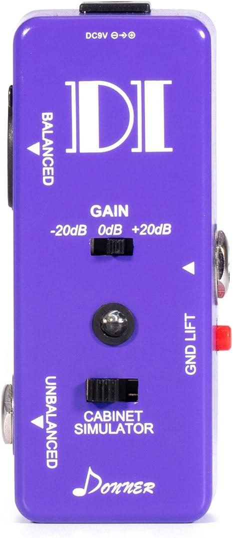 Donner pedales de efectos caja de inyección di simulador de ...