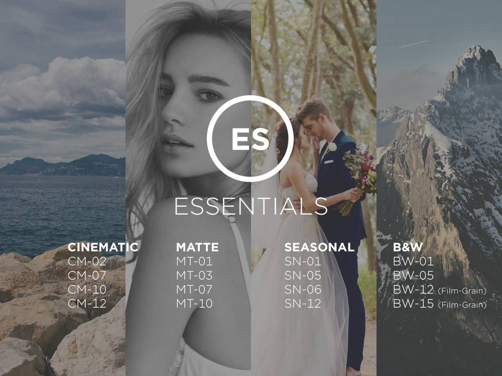 Capture One Essentials Styles Pack - One Pro Capture