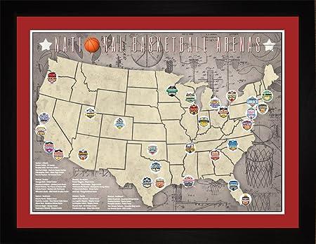 NBA National Basketball Stadiums Arenas Teams Tracking ...
