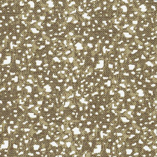 Jasper Sand Geometric Taupe Ruffled Euro Sham Cotton Linen