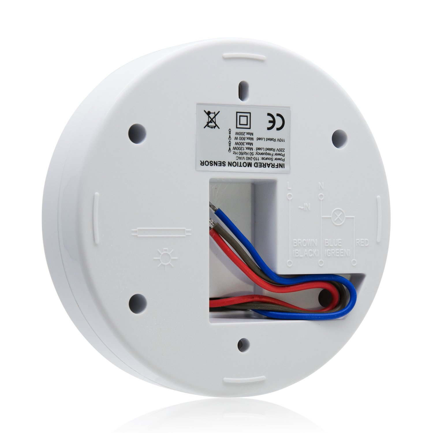 Sensky 360 Degree Ceiling Mounted Occupancy Sensor High Motion Detector Wiring Diagram On For Smoke Sensitivity Switch With 3 Detectors Time Distance And Light Adjustable