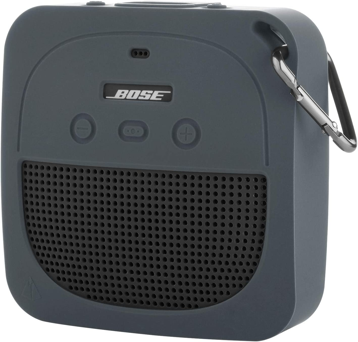 TXEsign Protective Silicone Stand Up Case for Bose Soundlink Micro Waterproof Bluetooth Portable Speaker (Grey)