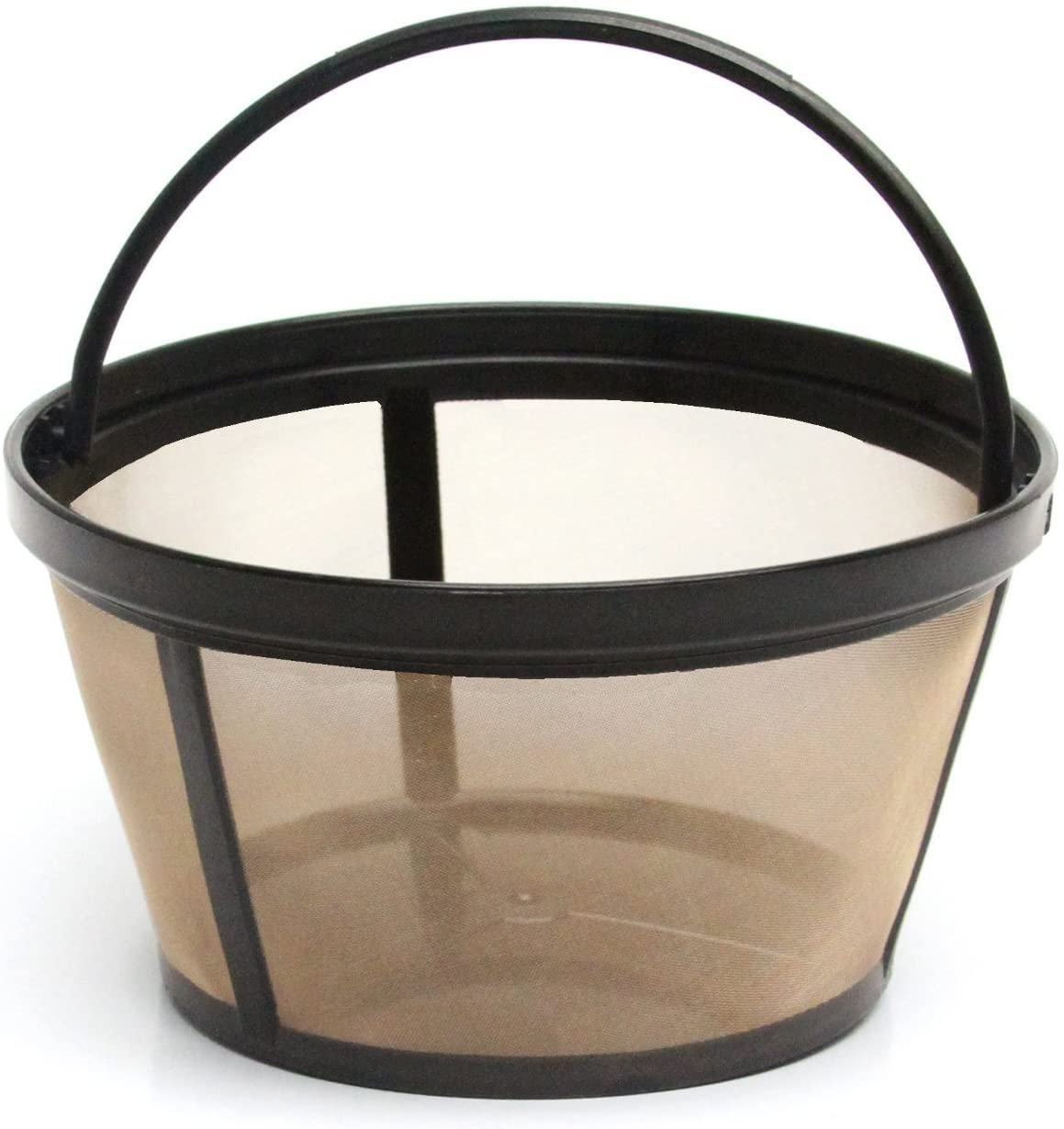 1 X 4-Cup Basket Style Permanent Coffee Filter Fits Mr. Coffee 4 Cup Coffeemakers (mit Handle)