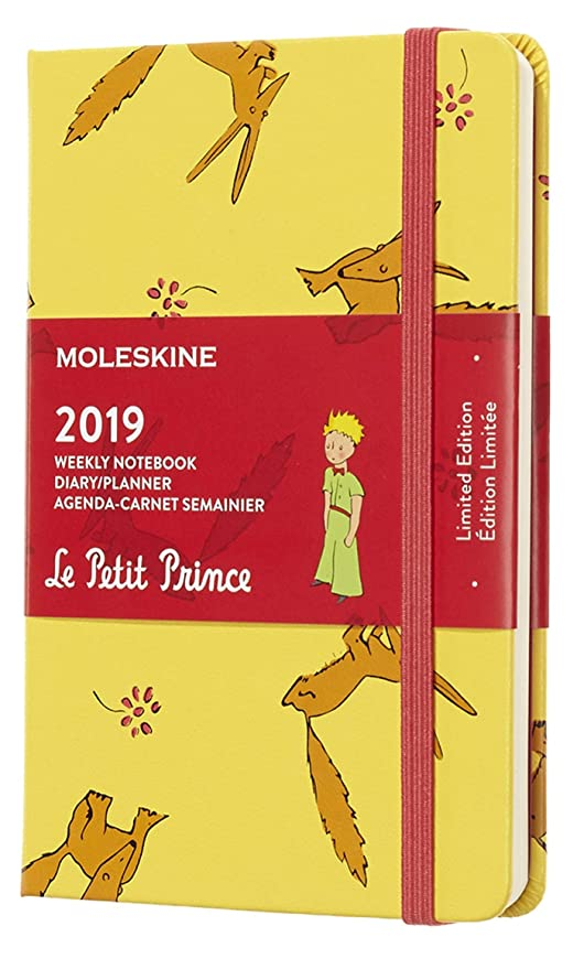 Amazon.com: Moleskine 2019 - Cuaderno semanal, 39.4 ft ...
