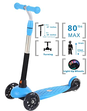 Amazon.com: Voyage Sports mini scooter X4 (rosa, verde, azul ...
