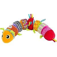 Lamaze Mixa & matcha larv mjuk gosig leksak för baby, bebisar aktivitet sorteringsleksak, idealisk babyshower gåva för…