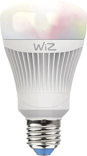 Bombilla LED WiZ inteligente con conexión WiFi, luz blanca y de colores. Regulable,