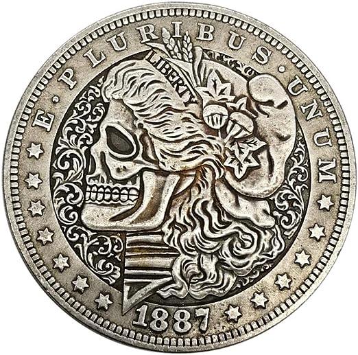SUPERLOVE Moneda De Plata Tridimensional En Relieve Virtual,1887 ...