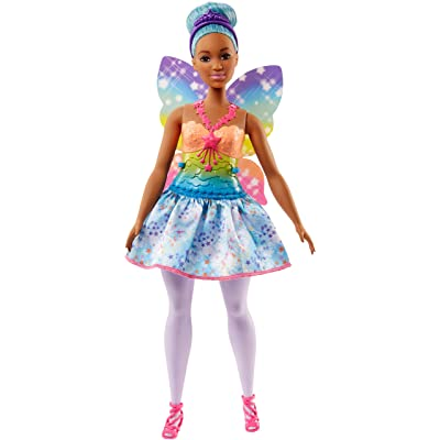 Barbie Dreamtopia Rainbow Cove Fairy Doll, Blue: Toys & Games
