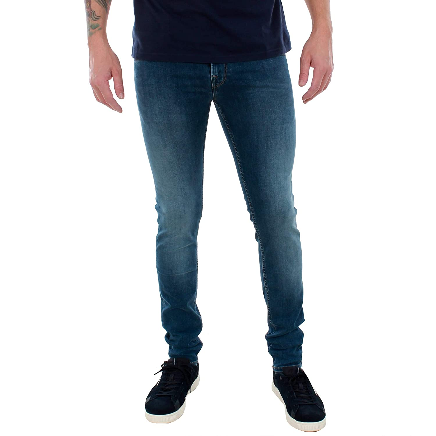 423cafce267 Pepe Jeans Jean Homme Bleu PM200338CF02 Finsbury