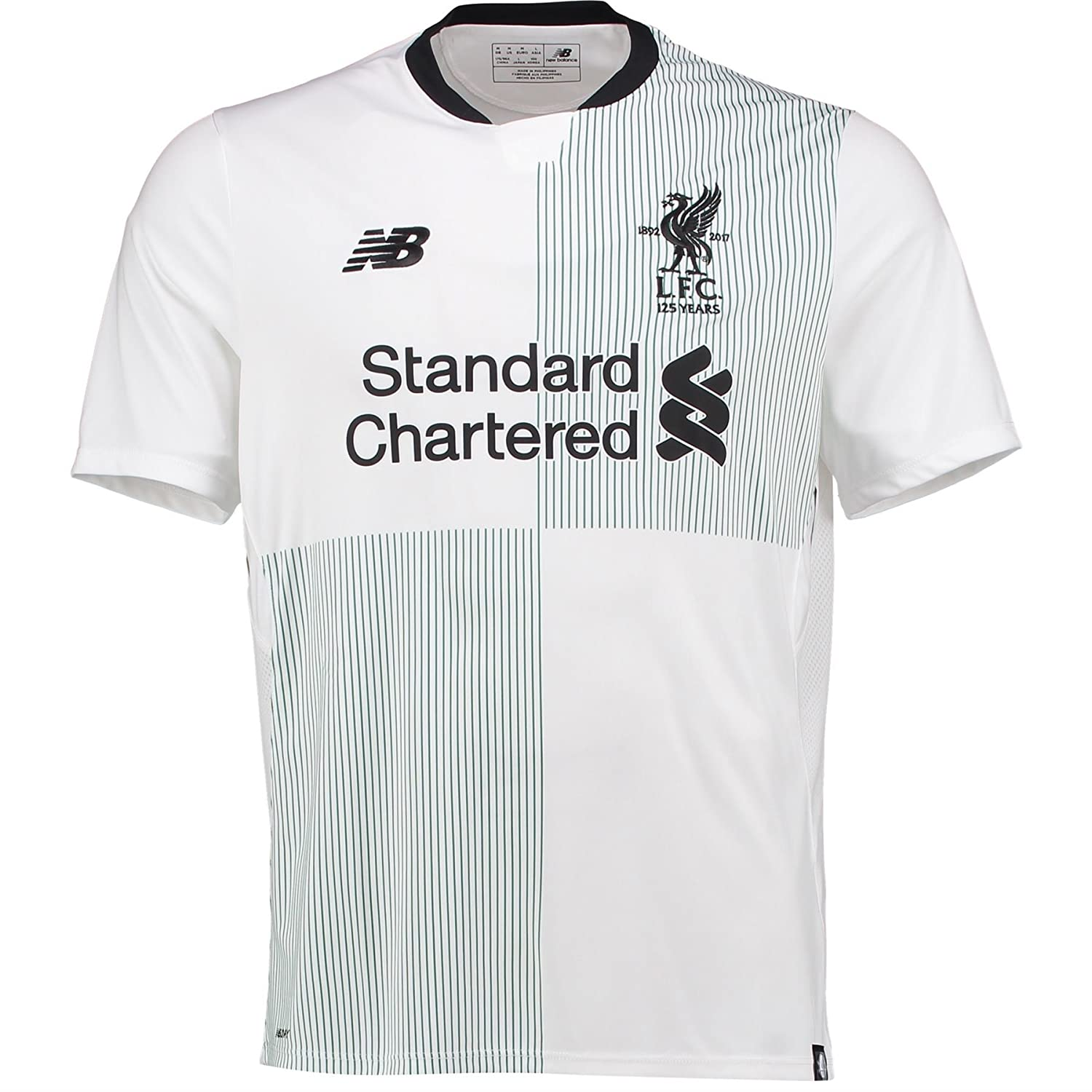 98934ee51 New Balance Liverpool Away Kids Shirt 2017 2018  Amazon.co.uk  Sports    Outdoors