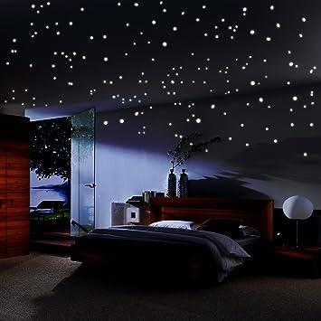 Sternenhimmel AufkleberGlühende wiederverwendbare Decke Dekor von ...