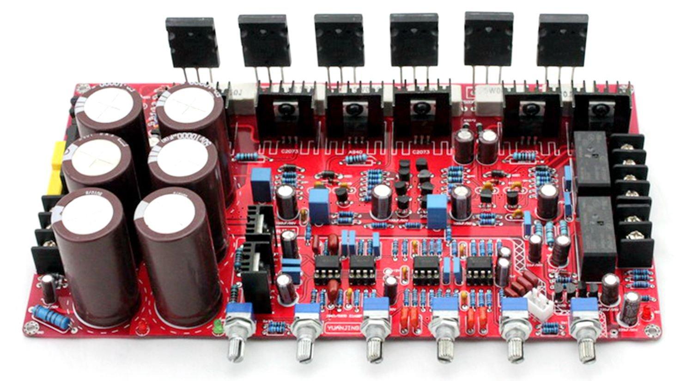 Original 1943 5200 Amplifier Amp Board 21 80w 100w 200w Simple Audio Circuit Using Tda7294 Home Theater