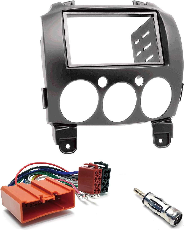 Ugar 11 079 Doppel Din Radioblende Dash Installation Elektronik
