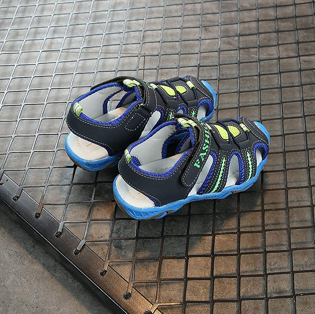 GongzhuMM Sandales Fille Gar/çon 26-37 /Ét/é Sneakers Fille Gar/çon Chaussures de Sport Unisexe Espadrilles Fille Gar/çon Chaussures De Course Doux pour 3-15 Ans