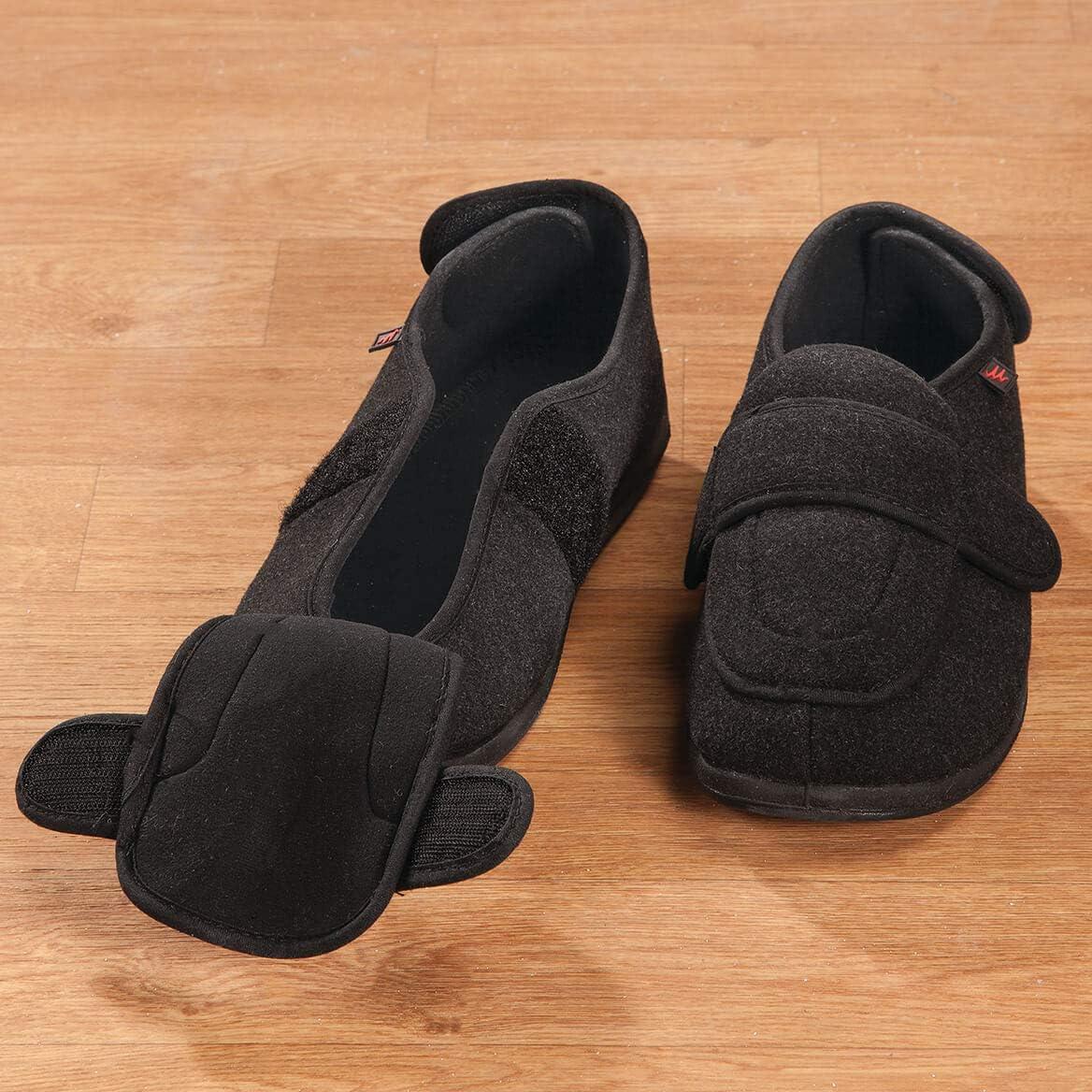 Fox Valley Traders Adjustable Edema Slippers