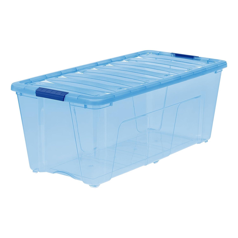 IRIS 5 Quart Stack & Pull Box, 10 Pack IRIS USA Inc. 585050