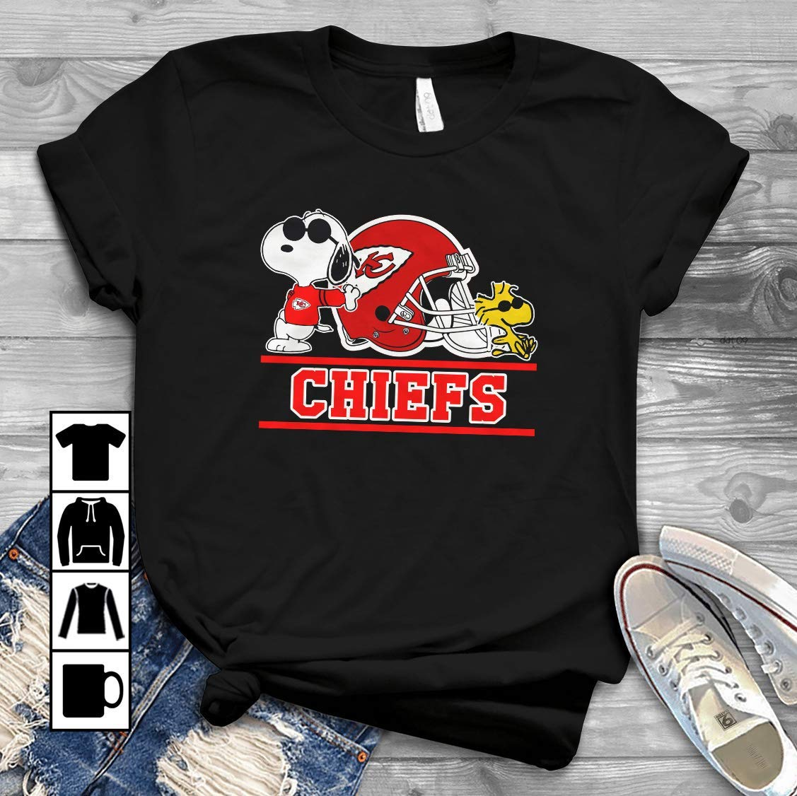 long sleeve chiefs t shirt