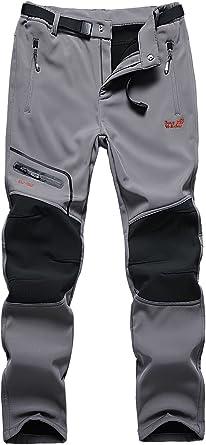 Camii Mia Womens Mountain Sports Windproof Waterproof Fleece Hiking Pants