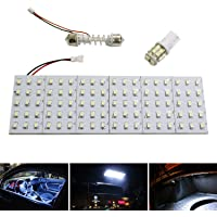 iJDMTOY Super Bright 110-SMD 2-Piece Exact Fit Full LED Interior Light Package for 2013-2016 Scion FR-S Subaru BRZ 2017…