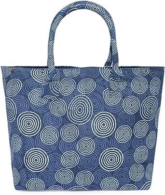 Nidhi NK10 Shopper Bag for Women - Blue