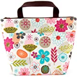 Lunch bag with flower pattern by Size of 12.59''x4.72''x11.41''