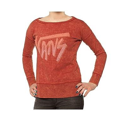 0ba7d7f666dd Sweat Vans - Pull Rouge Grenat Leila Xs  Amazon.fr  Vêtements et ...