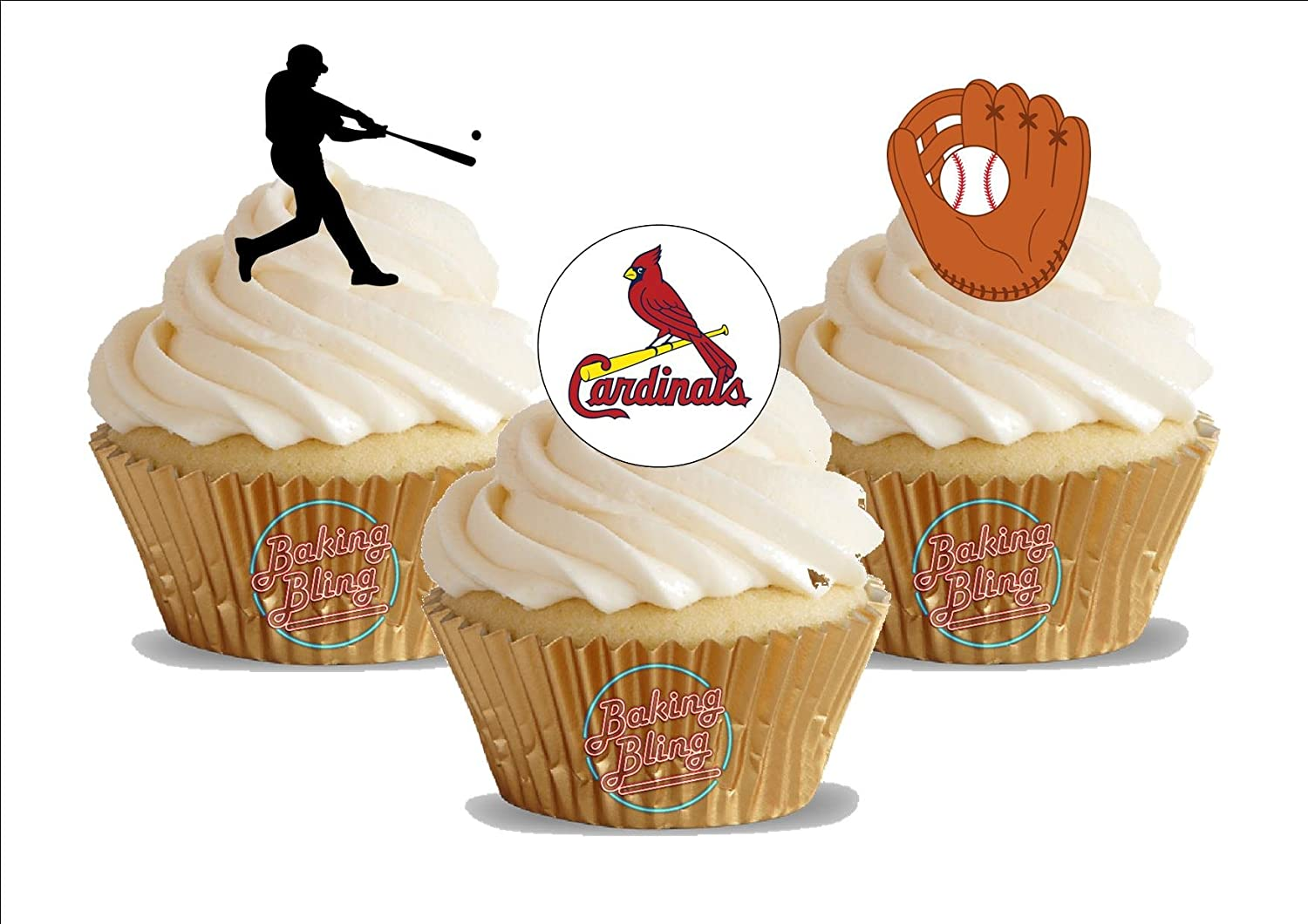 Astounding Amazon Com 12 X Baseball St Louis Cardinals Mix Fun Novelty Funny Birthday Cards Online Fluifree Goldxyz