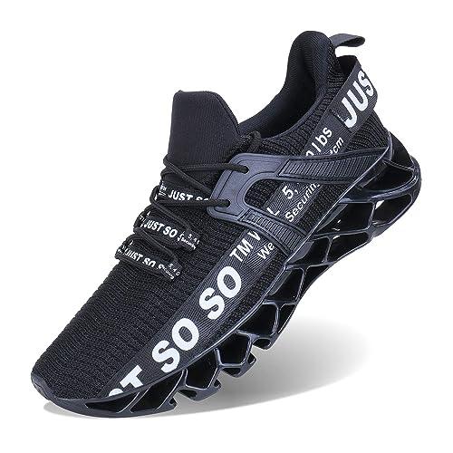 new style 5b406 f26b7 Wonesion Herren Fitness Laufschuhe Atmungsaktiv Rutschfeste Mode Sneaker  Sportschuhe, ,