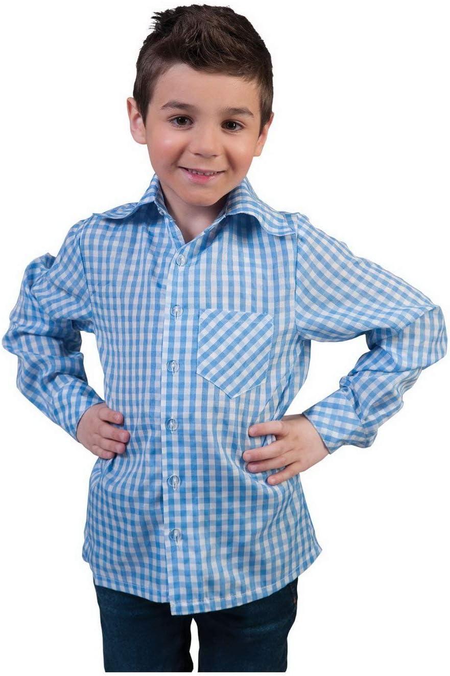 erdbeerclown – Disfraz Infantil Azul Color Blanco diseño Basic ...