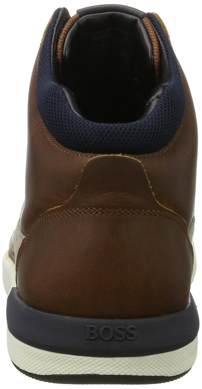 Boss Orange Stillnes_hito_PP 10201493 01, Baskets Hautes Homme, Marron  (Medium Brown), 46 EU: Amazon.fr: Chaussures et Sacs