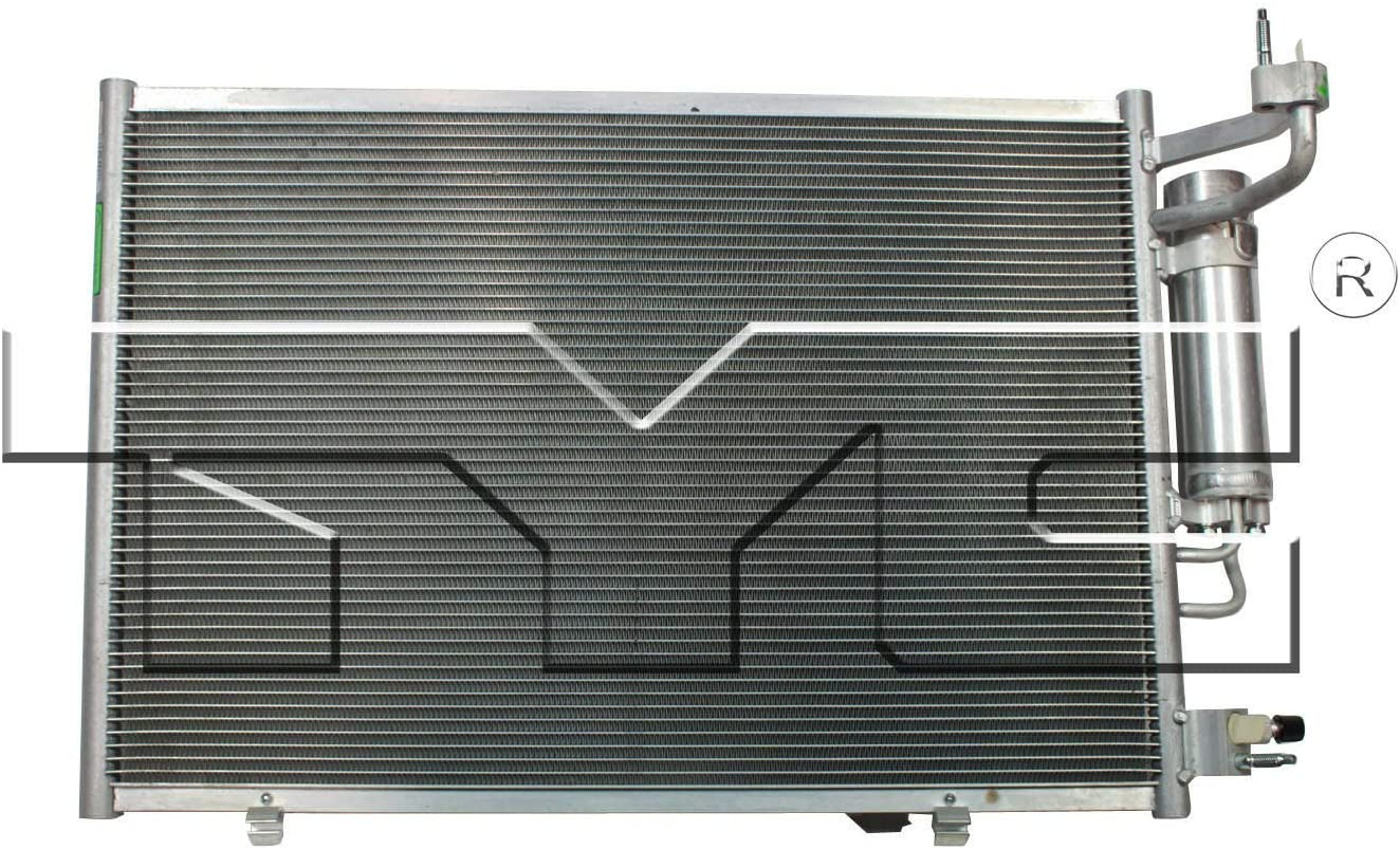 TYC 3881 Replacement Condenser Compatible with Ford Fiesta
