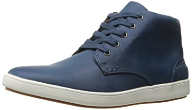 Steve Madden Men's Freedomm Fashion Sneaker, Navy, ...