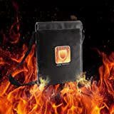 Fireproof Resistant Document Bag - Fire Resistant Protective Bag for Heavy Duty and Non-itchy | Coated Fire Resistant Envelope Pouch Fireproof Money Bag for Cash/Birth/Certificate/Passport by Aoxun