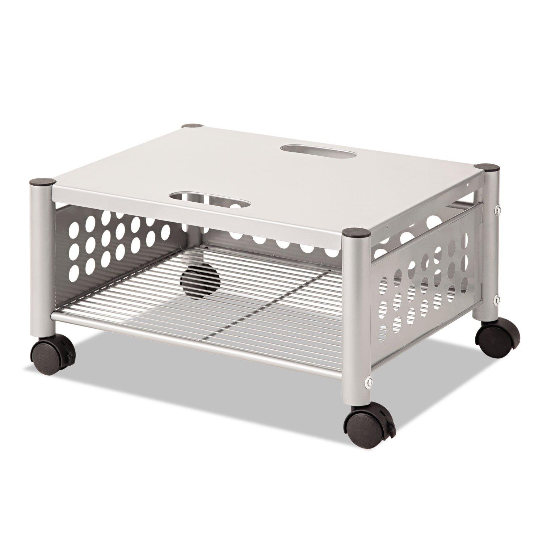 Vertiflex VF52005 Underdesk Machine Stand, One-Shelf, 21 1/2w x 17 7/8d x 11 1/2h, Matte Gray by Vertiflex