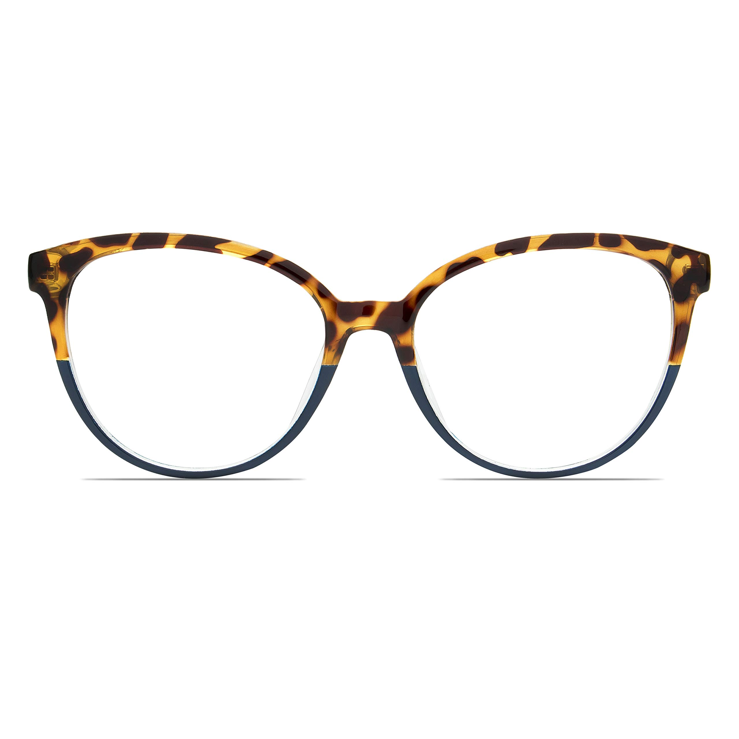 Premium Blue light blocking glasses - Cateye Acetate Frame equipped with spring hinges and high grade blue tech lenses- Anti Eyestrain by WealthyShades